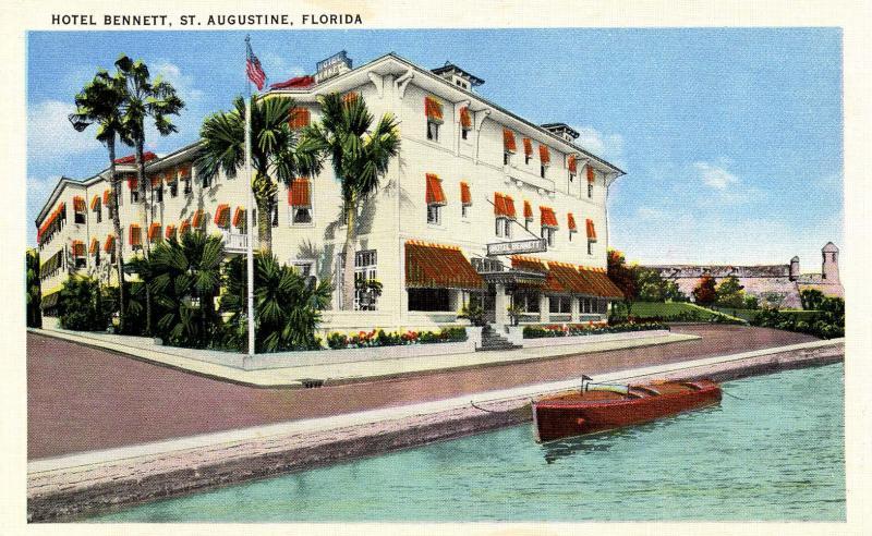 FL - St Augustine. Hotel Bennett