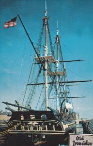 USS Constitution, Old Ironsides, Navy Yard, Boston, Massachusetts, 40-60's