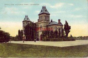 PAVILLION VICTORIA PARK LEICESTER ENGLAND UK 1905