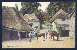 Cockington Forge Devon England unused c1910's