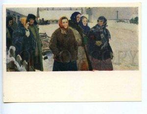 227299 UKRAINE Antonchyk Shostak farmers village Morintsy old postcard
