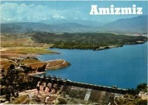 CPM MAROC Amizmiz. Vue aérienne sur le barrage (342564)