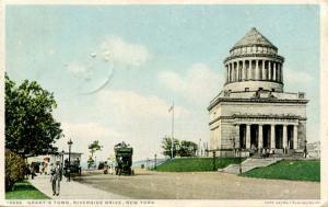 NY - New York City. Grant's Tomb, Riverside Drive