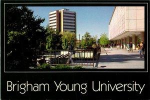 Provo UT Brigham Young University Postcard Unused (28262)