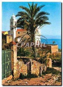Postcard Modern Oasis Beauty Corsica Cargese Latin Church