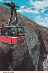 Georgia Atlanta Aerial Tram Over Stone Mountain
