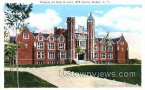 Wagner College, Grymes Hill Staten Island NY Unused