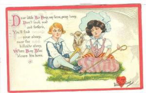 TUCK 9, Little Nursery Lovers, To My Valentine, Little Boy Blue and Litttle...