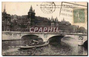 Paris - 1 - The Conciergerie Postcard Old
