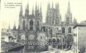 Spain Postcard España Tarjeta Postal Catedral Vista General Desde La Pelleje...