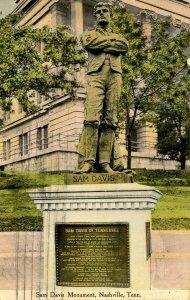 TN - Nashville.  Confederate Sam Davis Monument