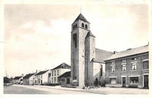 Belgium Nalinnes L'Eglise et la Place des Haies Church Street Promenade