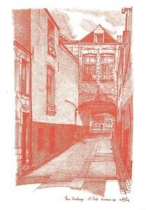 Belgium Tournai Rue Dewasme, Saint-Piat Street Alain Kolin