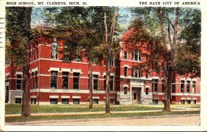 Michigan Mount Clemens High School 1922