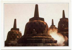 The Temple at Borobudur - Java, Indonesia
