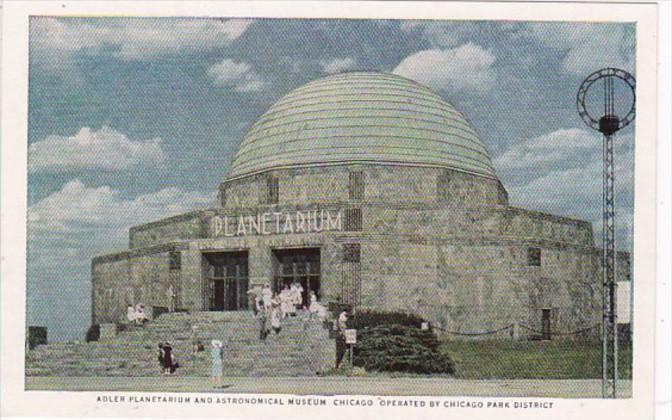 Illinois Chicago Adler Planetarium and Astronomical Museum