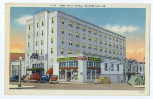 Linen of Dixie Hunt Hotel in Gainsville Georgia GA