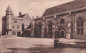 WINCHESTER, Hampshire, England, 1900-1910s; Great Hall