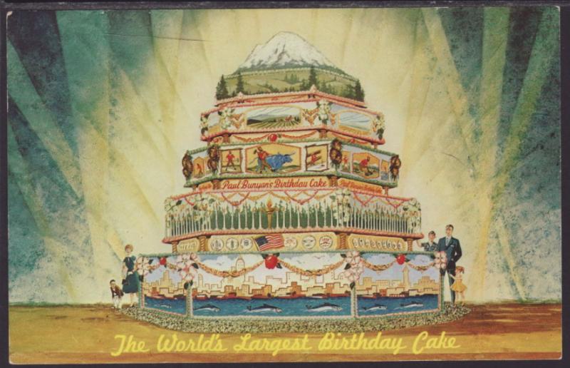 Paul Bunyans Birthday CakeSeattle Worlds Fair