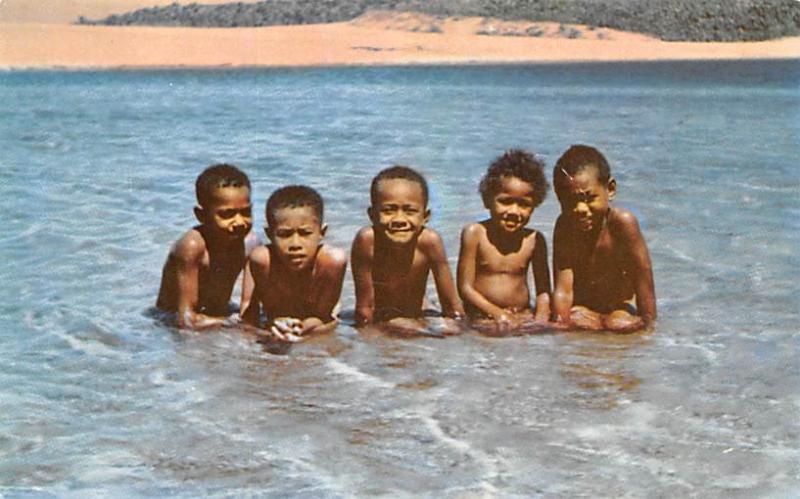 Fiji Fijian Children  Fijian Children