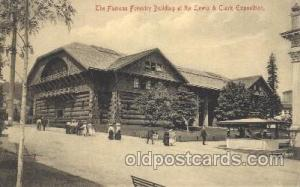 The famous Forestry Building Lewis & Clark 1905 Exposition Postcard Post Card...