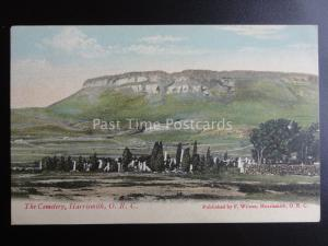 South Africa HARRISMITH O.R.C. THE CEMETERY c1909 old Postcard by F. Wilson
