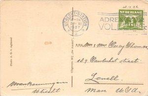 13266 Netherlands utrecht-station Postmark Cancel 1927