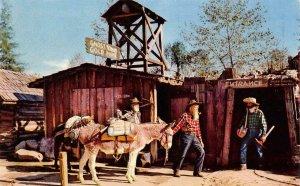 KNOTT'S BERRY FARM Gold Mine Tunnel Entrance Ghost Town c1950s Vintage Postcard
