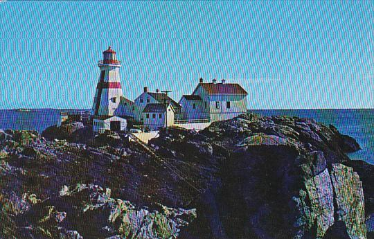 Canada Head Harbor Lighthouse Campobello Island New Brunswick