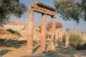 Turkey Bergama Asclepieion Western Stoa Ruins Postcard
