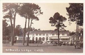 California Delmonte Lodge Real Photo