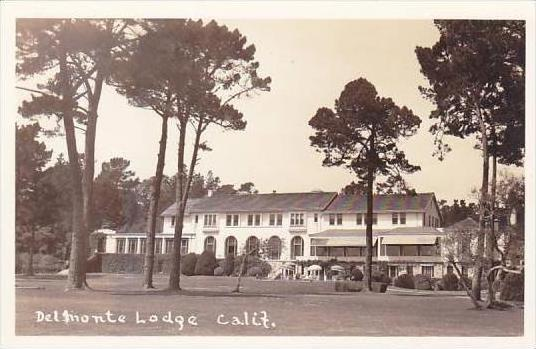 California Delmonte Lodge Real Photo