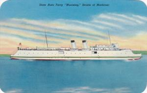 State Auto Ferry Munising Staits of Mackinac, Michigan, 10-20s