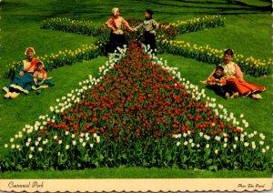 Michigan Holland Centennial Park At Tulip Time