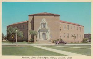 LUBBOCK, Texas, 1940-50s; Museum , Texas Tech University