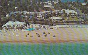 The Seagate Apartment  Hotel And Beach Club Pool Delray Beach Florida 1963