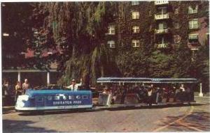 Minituare-Small Train, Sheraton Park Hotel & Motor Inn, Washington, D.C., 1965