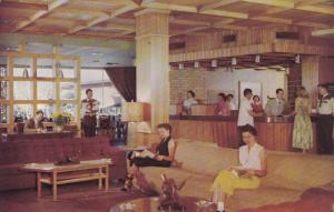 Western Hills Hotel, Interior View, FORT WORTH, Texas, 40-60´s
