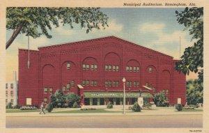 BIRMINGHAM , Alabama, 1930-40s ; Municipal Auditorium