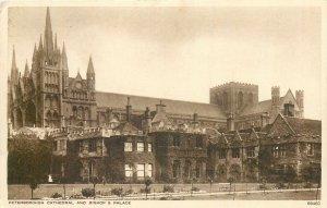Postcard UK England Peterborough, Northamptonshire Bishop palace