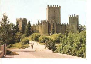 Postal 022607 : Castillo Guimaraes-Portugal