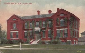 ORONO, Maine, 1900-1910's; Holmes Hall, University Of Maine