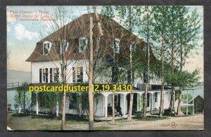 3430 - NOTRE DAME DU LAC Quebec c1905 Paul Cloutier's Hotel. Temiscouata Railway