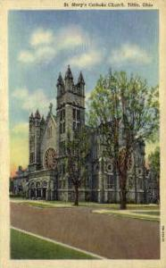St. Mary's Catholic Church Tiffin OH Unused