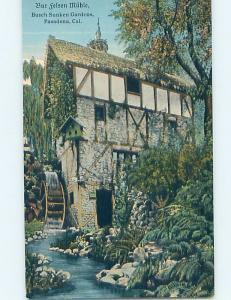 Unused Divided-Back BUILDING Pasadena - Los Angeles California CA hn9849