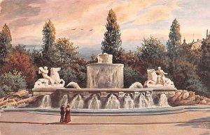Wittelshacherbrunnen Munchen Germany Unused