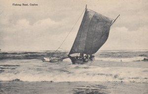 CEYLON , 00-10s ; Fishing Boat