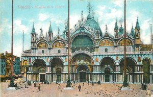 Europe Italy Postcard Venezia Basilica de San Marco