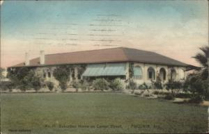 Phoenix AZ Center Street Home c1910 Postcard #2