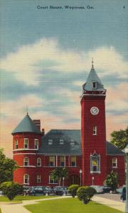 Court House, WAYCROSS, Georgia, 1930-1940s